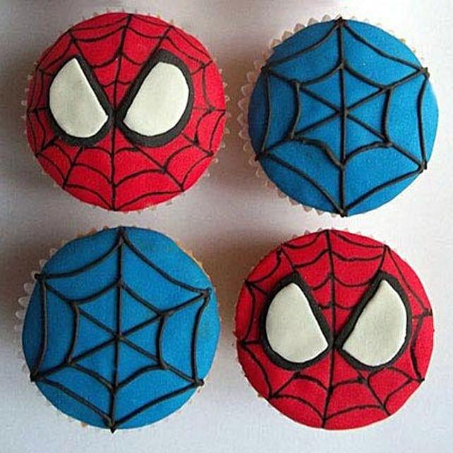 World of Spiderman Cupcakes 6