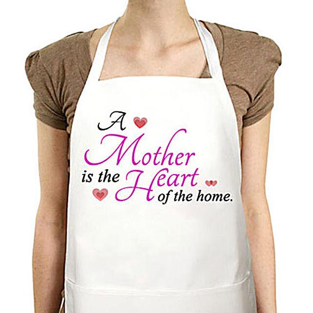 Amazing Mom-Special white apron