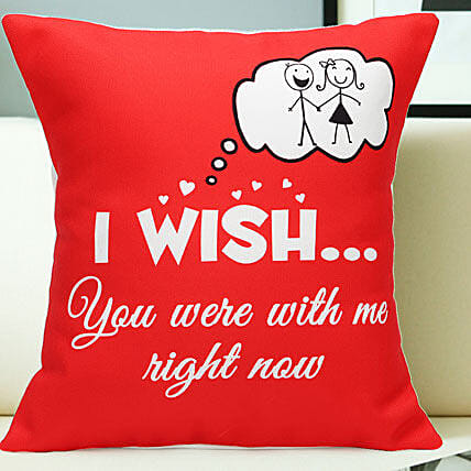 Miss You-12x12 Miss You Cushion:Send Miss You Gifts
