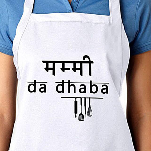 The Perfect Apron-Mummy da dhaba apron