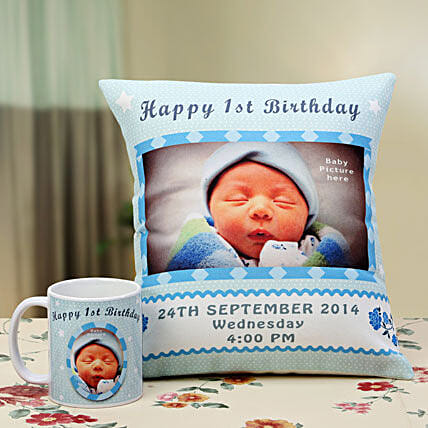 Angelic Dreams Personalized Combo:1st Birthday Gifts