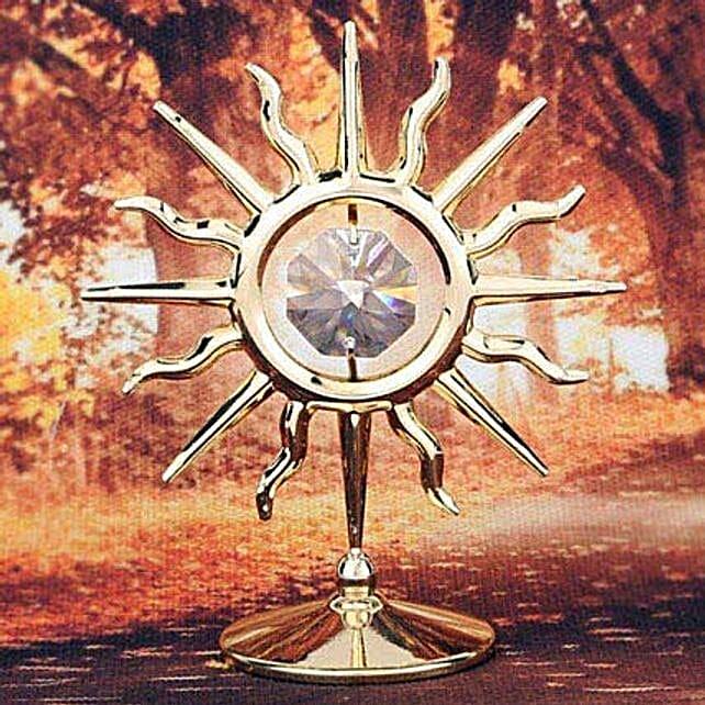 Swarovski golden sun