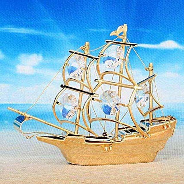 Swarovski sailing ship