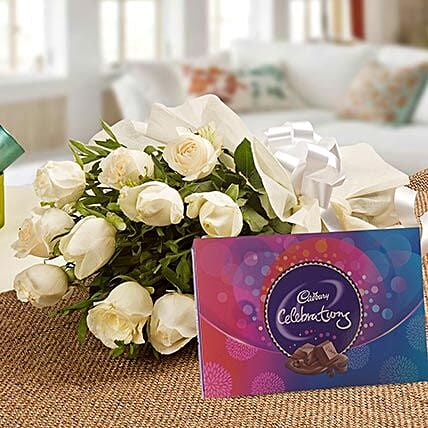 Roses and Celebrations:Send Flowers & Chocolates for Chocolate Day