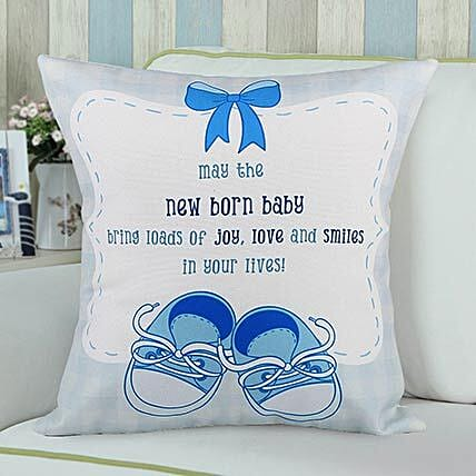 New Born Personalised Cushion:Send Gifts for Newborn