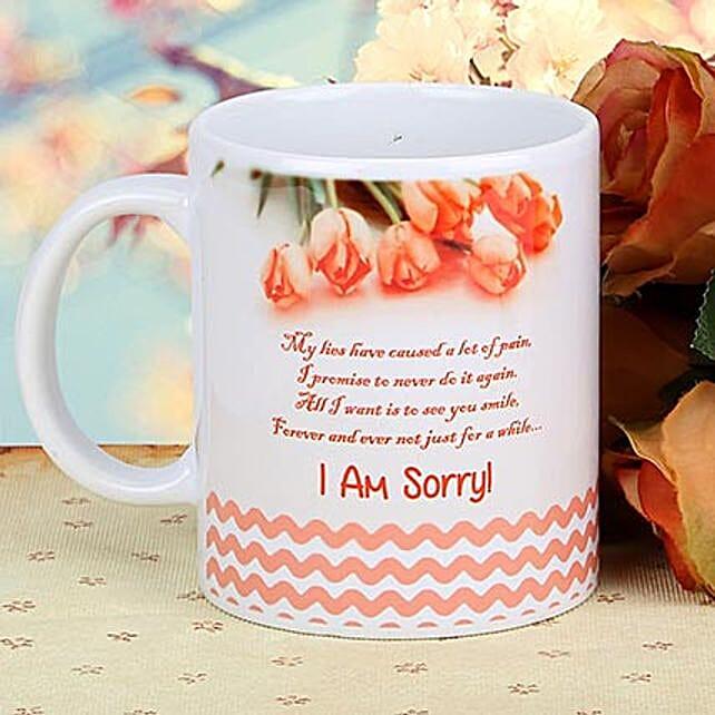 So Sorry Coffee Mug
