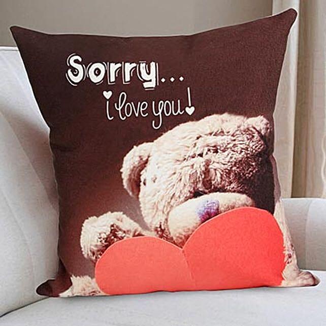 Printed love Cushion online