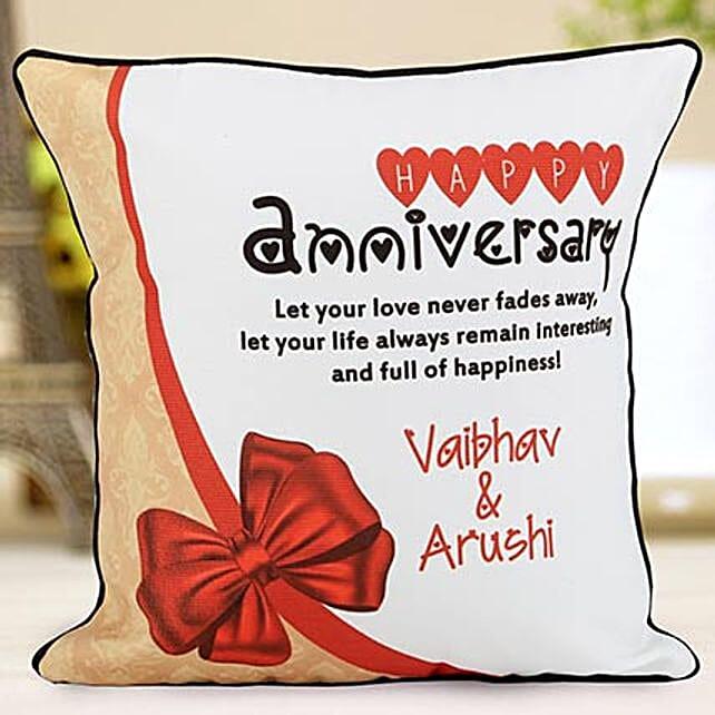personalised anniversary cushions