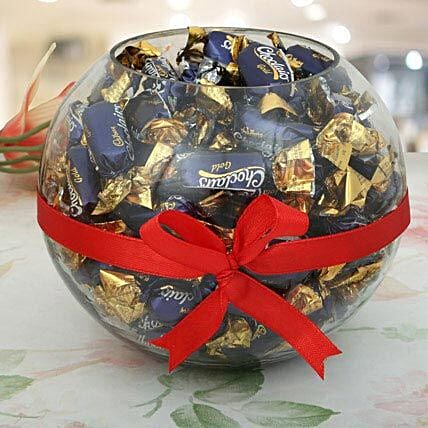 Wrapped Chocolate Candy Gift