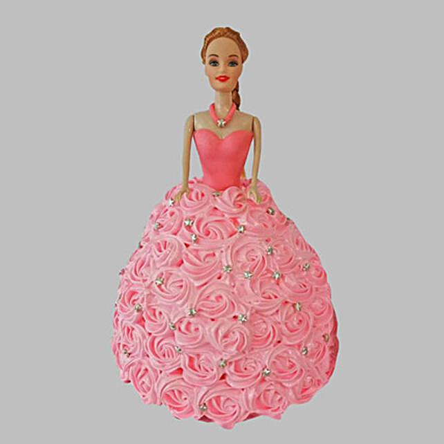 Barbie Cake  2kg:Barbie Cakes