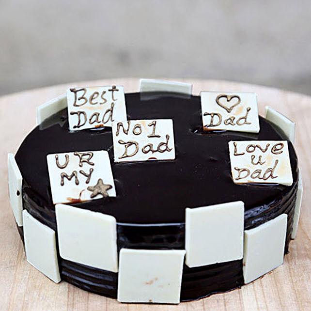 Chocolate Special Cake for No1 Dad Half kg