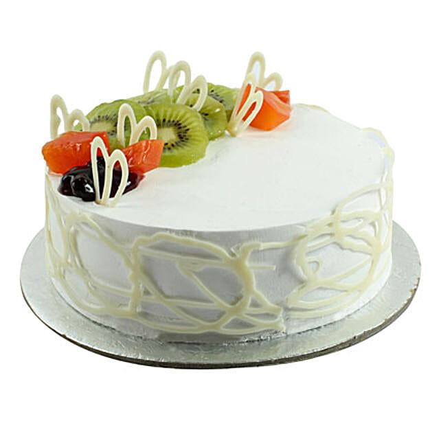 Fresh Ultimate Happiness Birthday Cake 1kg:Buy Fruit Cake