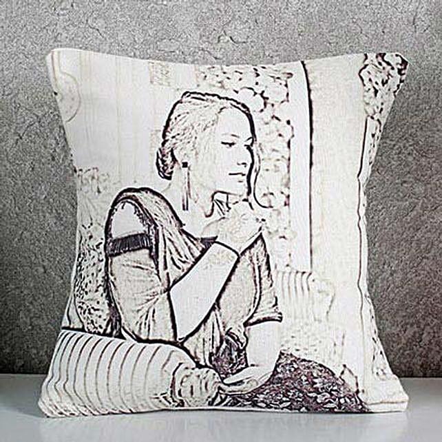 Sketch Cushion Online:Send Caricatures