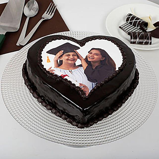 Heart Shape Chocolate Cakes