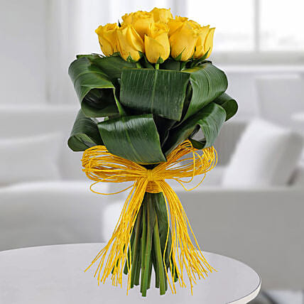 Bunch Of Yellow Rose