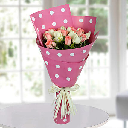 Pink and  Roses Bouquet