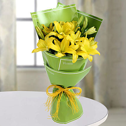 Yellow Lilies Online