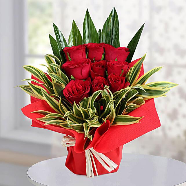 Elegant Red Arrangement