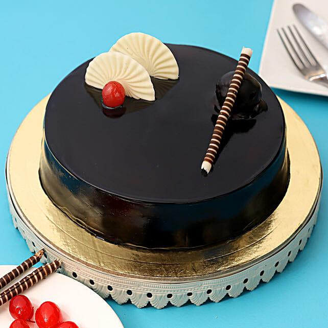 Exotic Chocolate Cream Cake 2kg Eggless