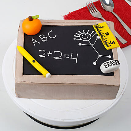 Black Board Special Fathers Day Cake 3kg