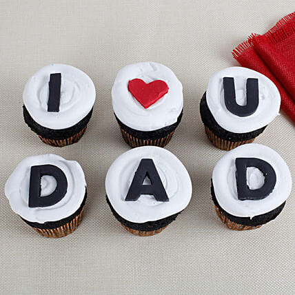 I Love You Dad Cupcakes 6