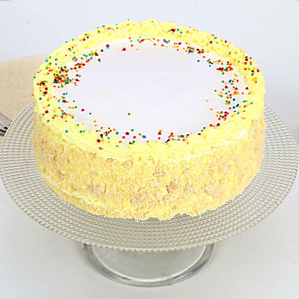 Delicious Butterscotch Cake Half kg Eggless