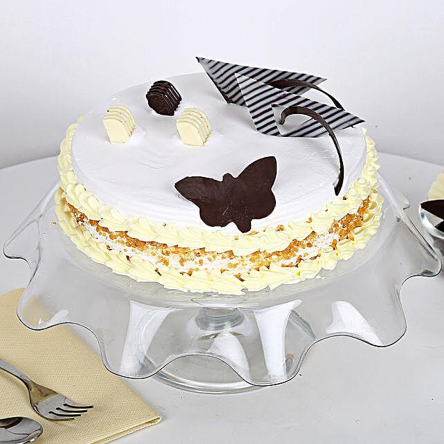 Creamy Butterscotch Cake 2Kg Eggless
