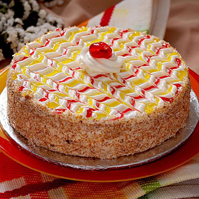 Creamy Butterscotch Cake Half Kg