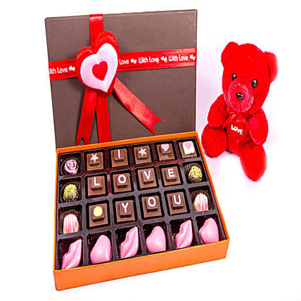 Online Chocolates with Cute Teddy