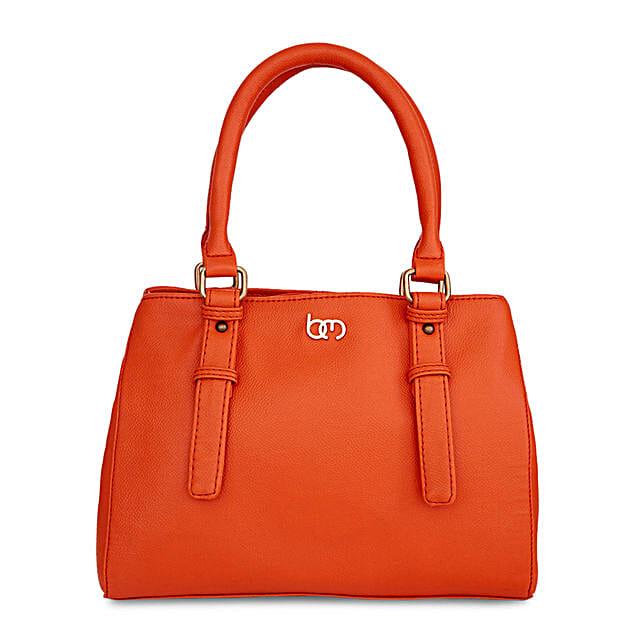 Bagsy Malone Alizarin Orange Handbag