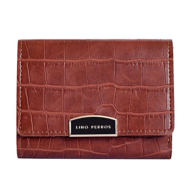 Lino Perros Smart Small Purse- Brown