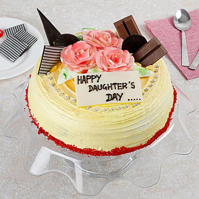 Daughters Day Vanilla Cake 2 Kg
