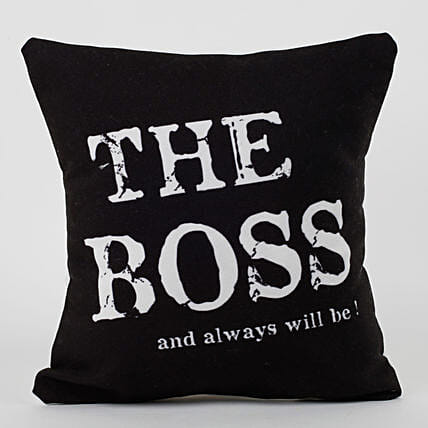 the boss cushion:Gifts Delivery In Suraj Kund