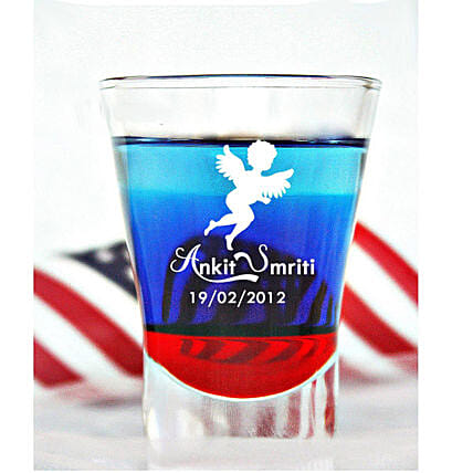 Shot Glass:Personalised Tequila Shot Glass