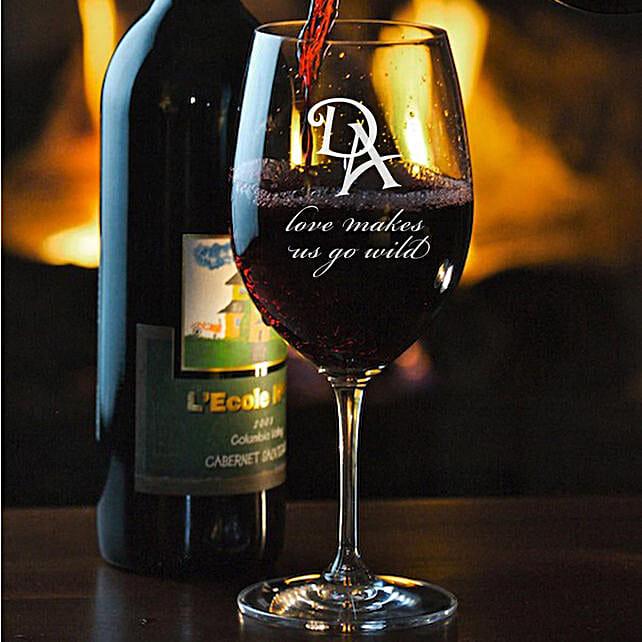 Wine Glass:Personalised Glassware