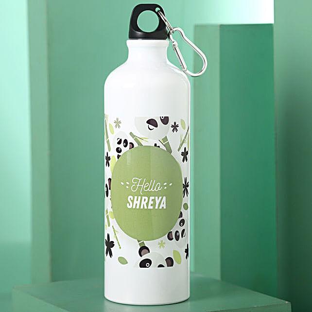 lovely printed bottle:Personalised Water Bottles