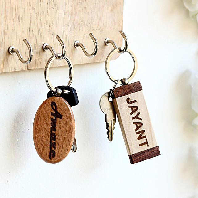 customised 2 key chain