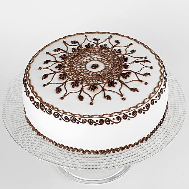 Karwa Chauth Special Chocolate Cake Half Kg