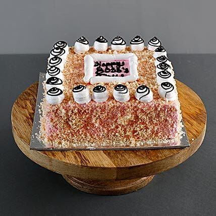 bake a cake for your boss