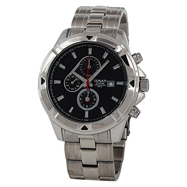 stylish analog watch for men