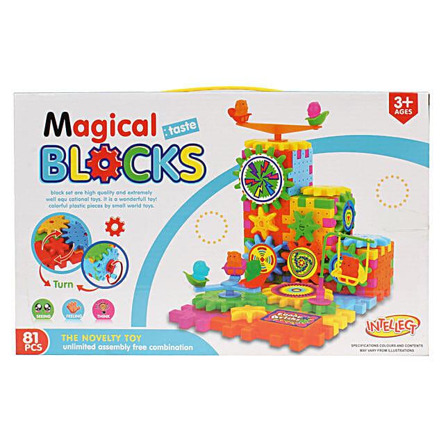 Building Blocks For Kids 81 Pieces