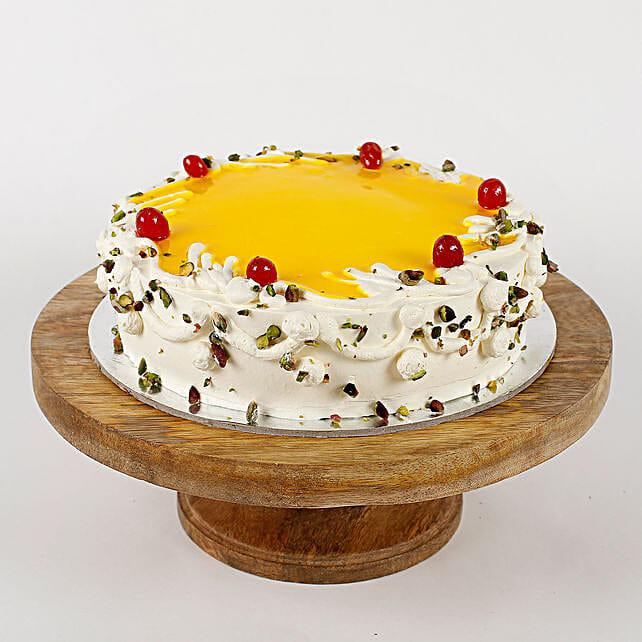 Nutty Pista cream cake