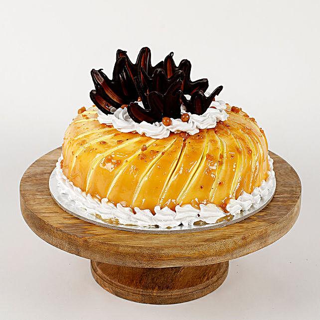Glaze Cream Strawberry Cake- Half Kg