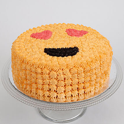 Love Smiley Pineapple Cake 1 Kg
