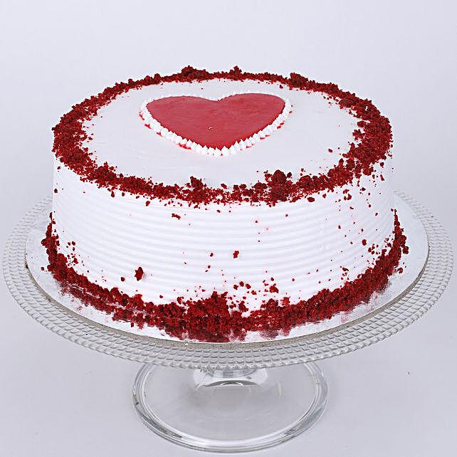 Adorable Red Velvet Cake 1.5 Kg Eggless