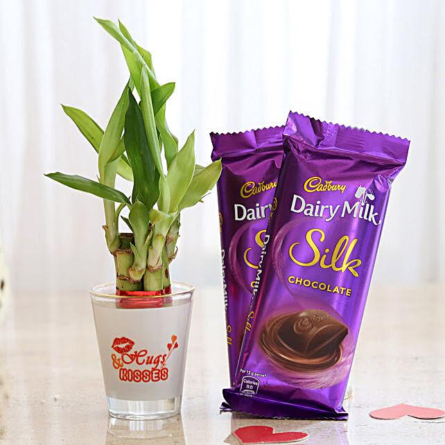 Cadbury Silk & Lucky Bamboo Combo