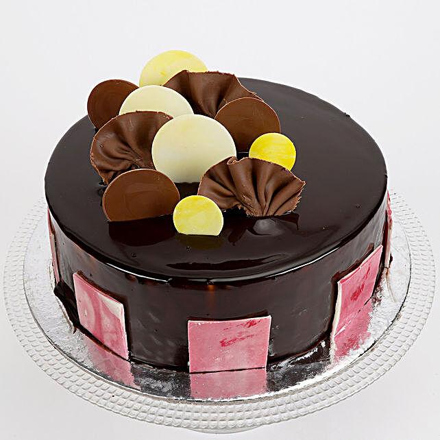 Choco Coin Truffle Cake 1kg Eggless