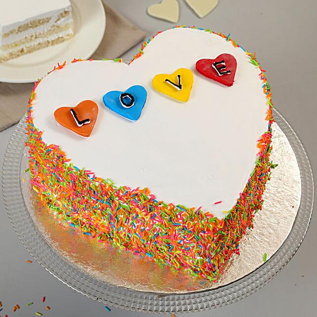Sweet Heart Shape Cake 1kg