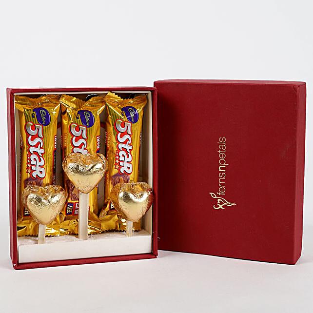 Five Star & Handmade Chocolate in FNP Gift Box