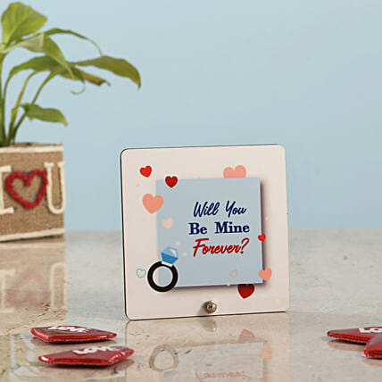 Happy Propose Day Table Top